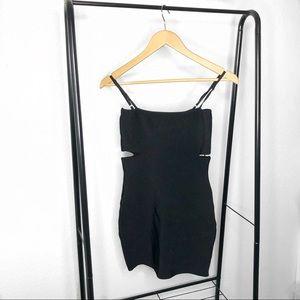 LF Dresses - LF Seek the Label Black Cut Out Mini Bodycon Dress